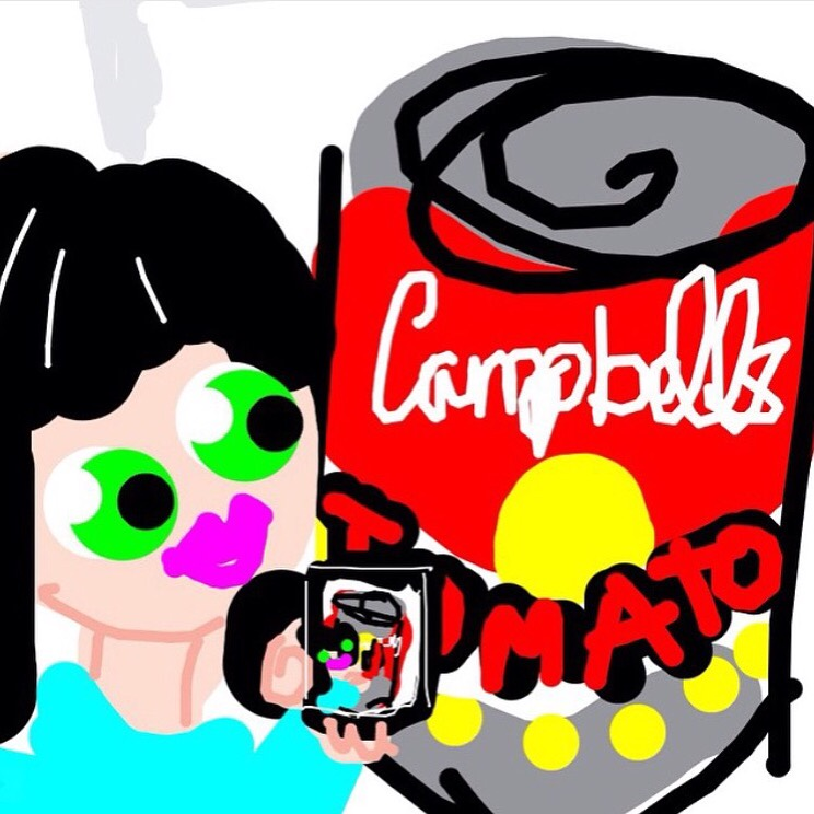 #MuseumSelfie with Tomato Soup, Andy Warhol. 1962 at @MuseumModernArt