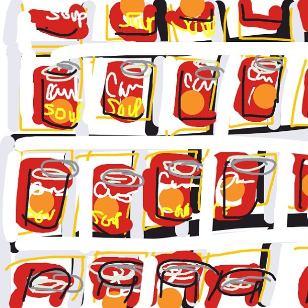 Campbell's Soup Cans, Andy Warhol, 1962 at @MuseumModernArt