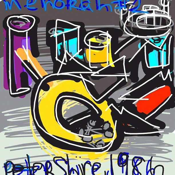 Menorah #2, Peter Shire. United States, 1986 at @artsmia