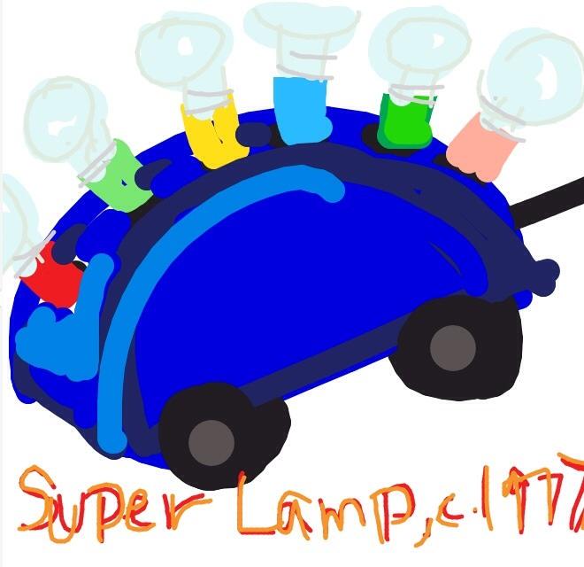 Super Lamp, Martine Bedin, 1977 at @V_&_A