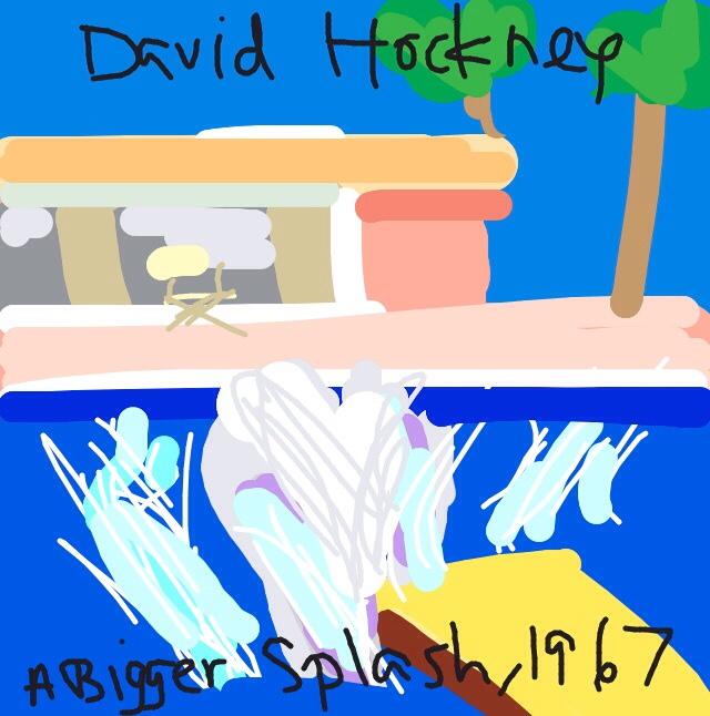 A Bigger Splash, David Hockney, 1967 at @Tate
