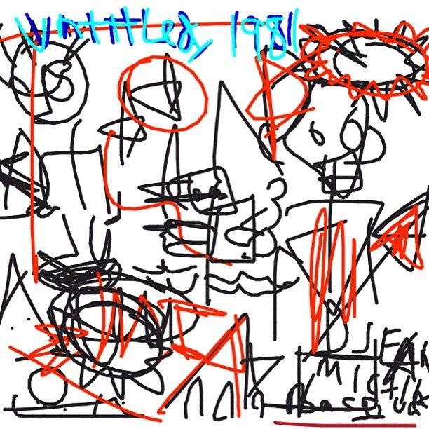 Untitled, Jean-Michel Basquiat, 1981 at @MuseumModernArt