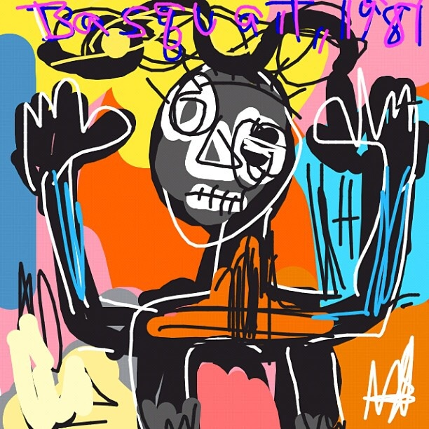 Untitled, Jean-Michel Basquiat , 1981