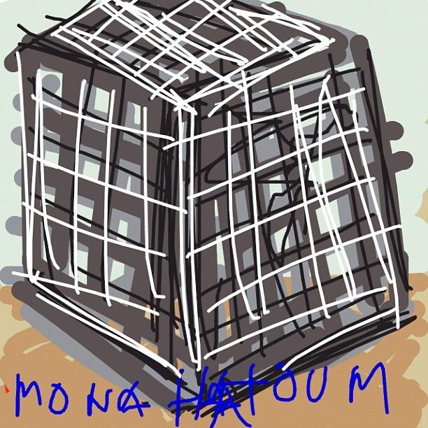 Cube (9 ≈ 9 X 9), Mona Hatoum, 2008