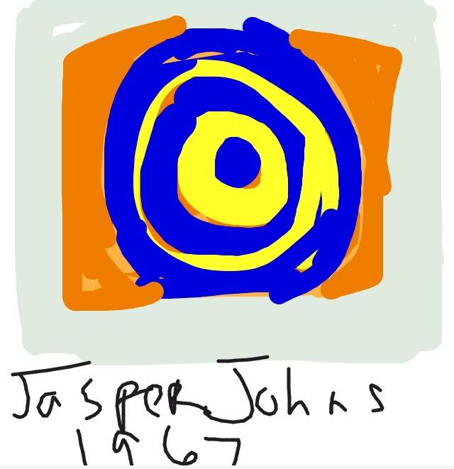 Target, Jasper Johns, 1967 at @artsmia