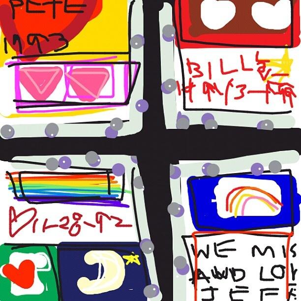 NAMES Project AIDS Memorial Quilt, 1985-2017