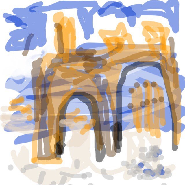 Palmyra by Mike Bee, MuseumDraw