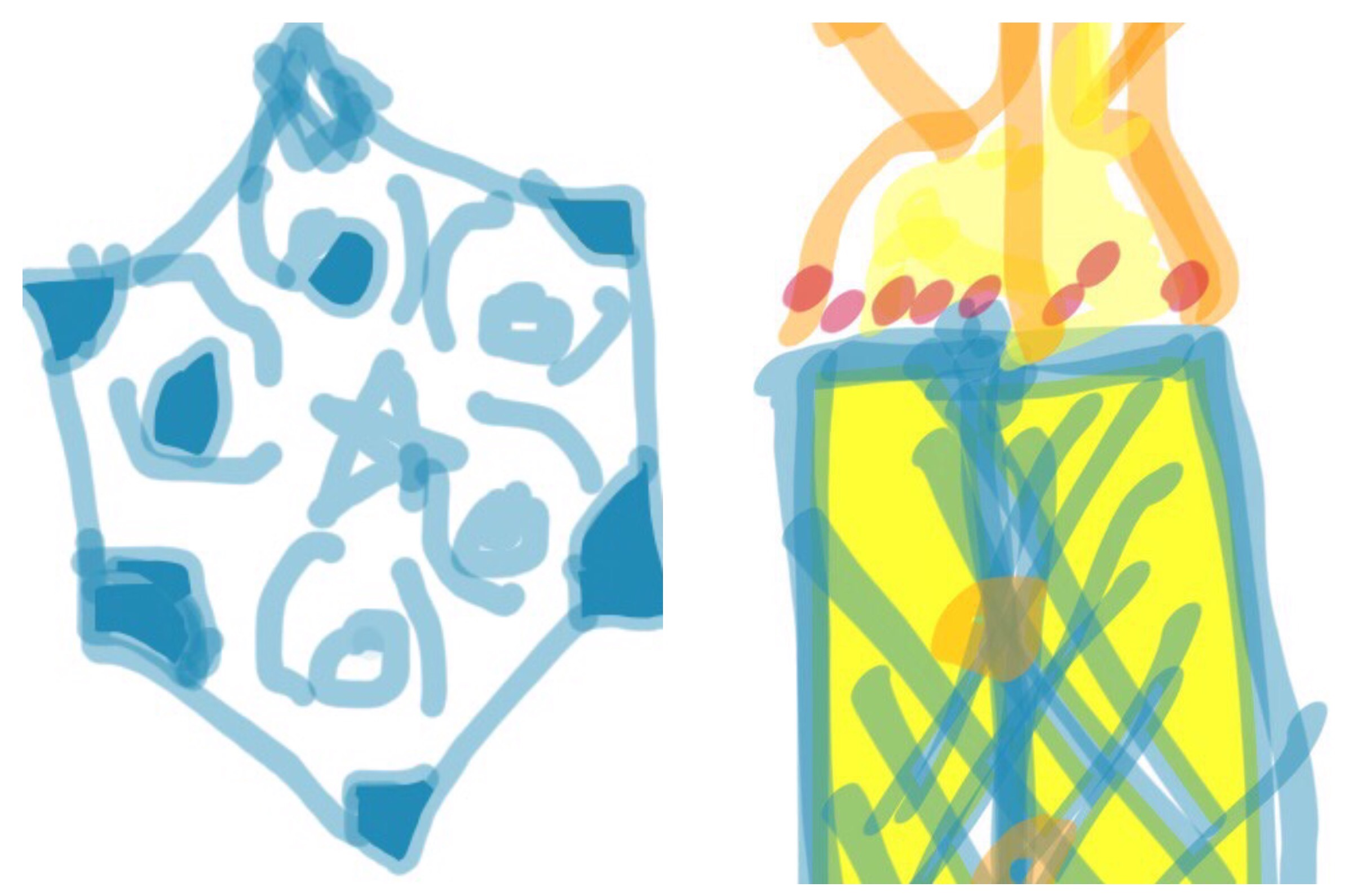 Iznik Tile  and  Tik , MuseumDraw with Mike Bee at Mia..