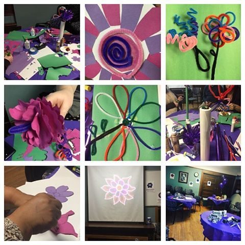 Some images from last night's #5to10 VR & Video Party. We had food, crafts, & fun! #placemaking