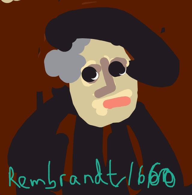 Self-Portrait, Rembrandt van Rijn, 1660
