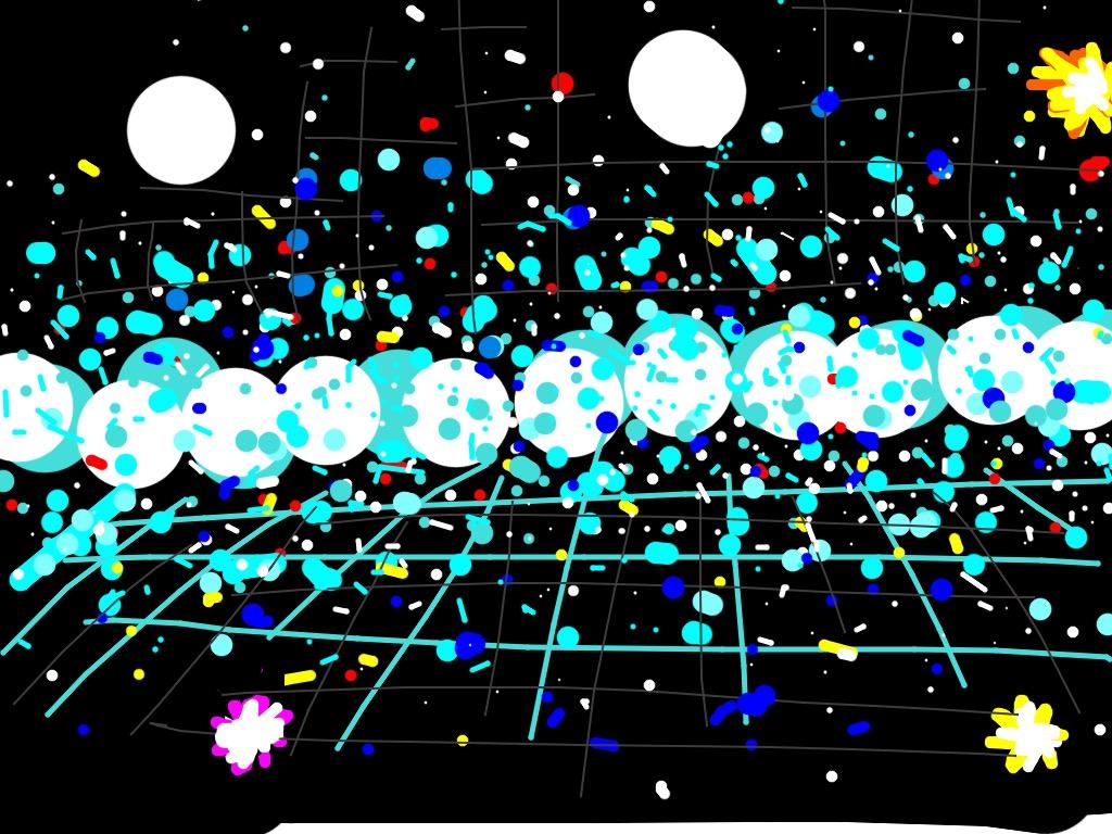 Infinity Mirrored Room, The Souls of Millions of Light Years Away, Yayoi Kusama, 2013