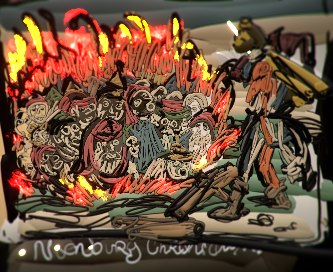 Burning Jews,Nuremberg Chronicles, 1493