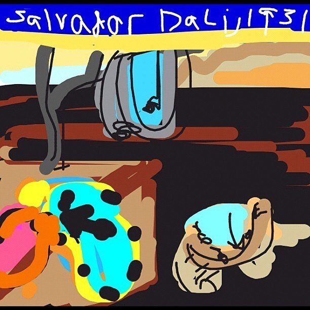 The Persistence of Memory, Salvador Dali, 1931 at @MuseumModernArt -- Learn more: http://www.moma.org/learn/moma_learning/1168-2 #DrawArt #dali
