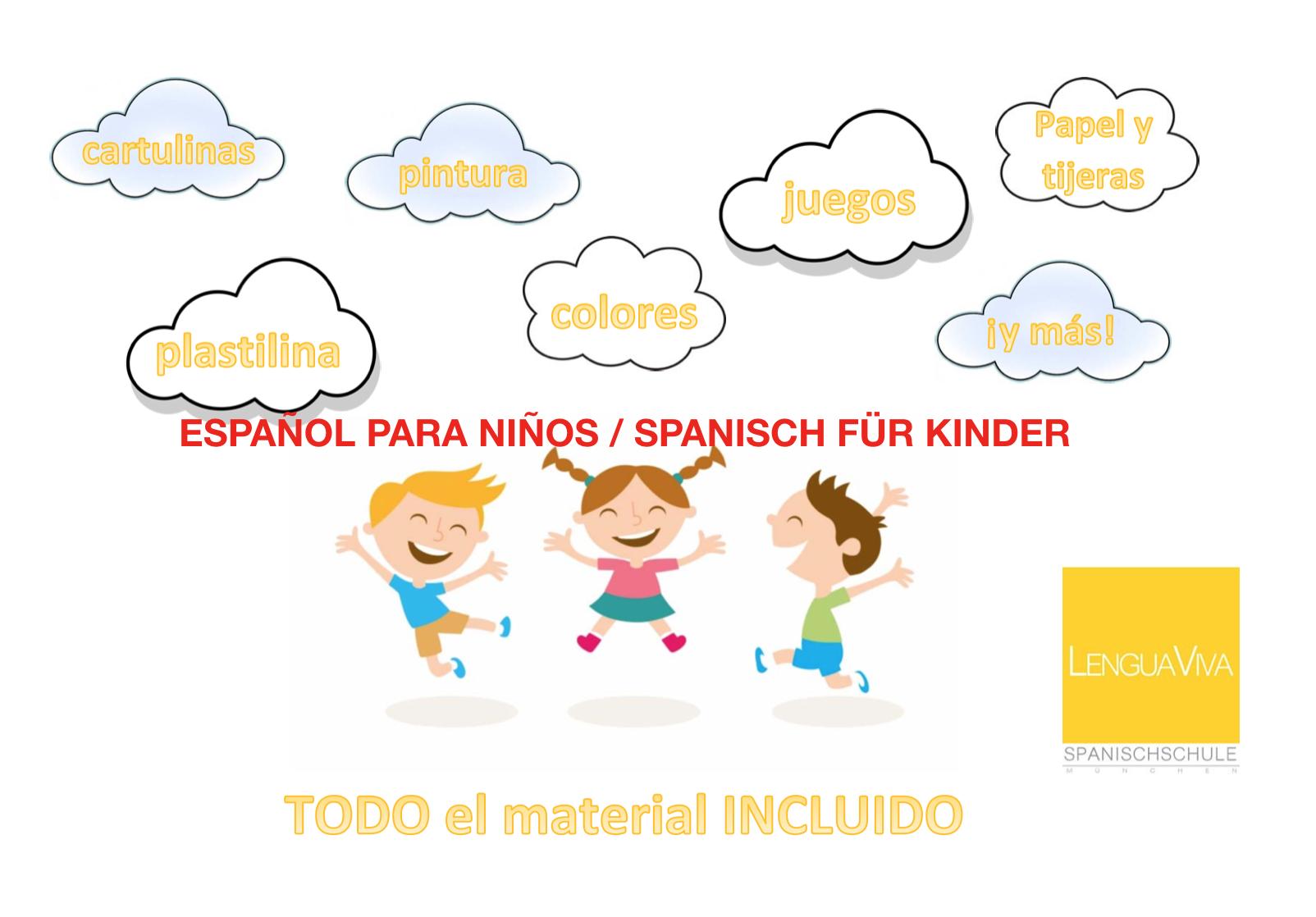 Spanisch für Kinder español para niños