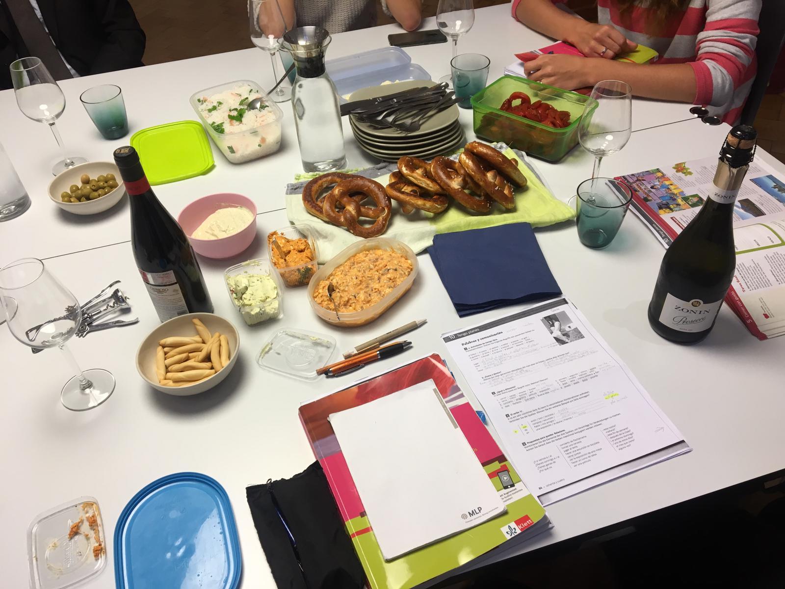 Spanisch essen bei LenguaViva