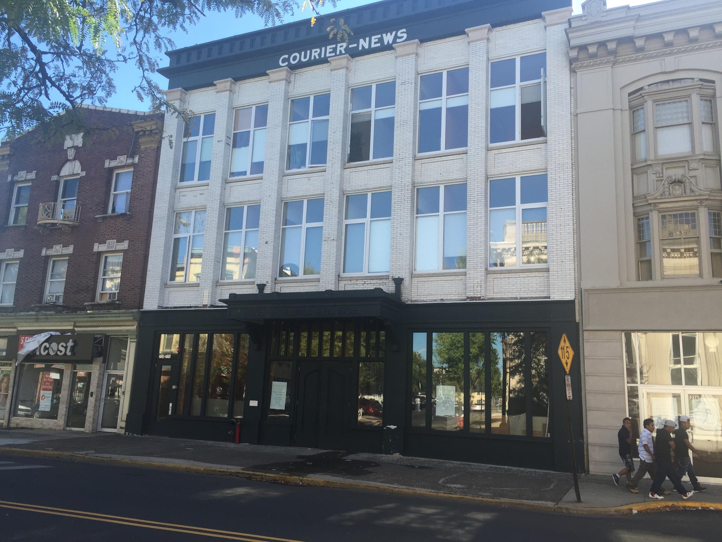 The Courier-News/Frost Building |234-238 Park Avenue | Built 1896 |Late 19th Century Commercial Building