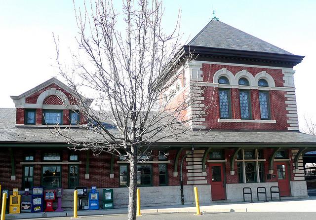 Plainfield Train Station | Built 1902