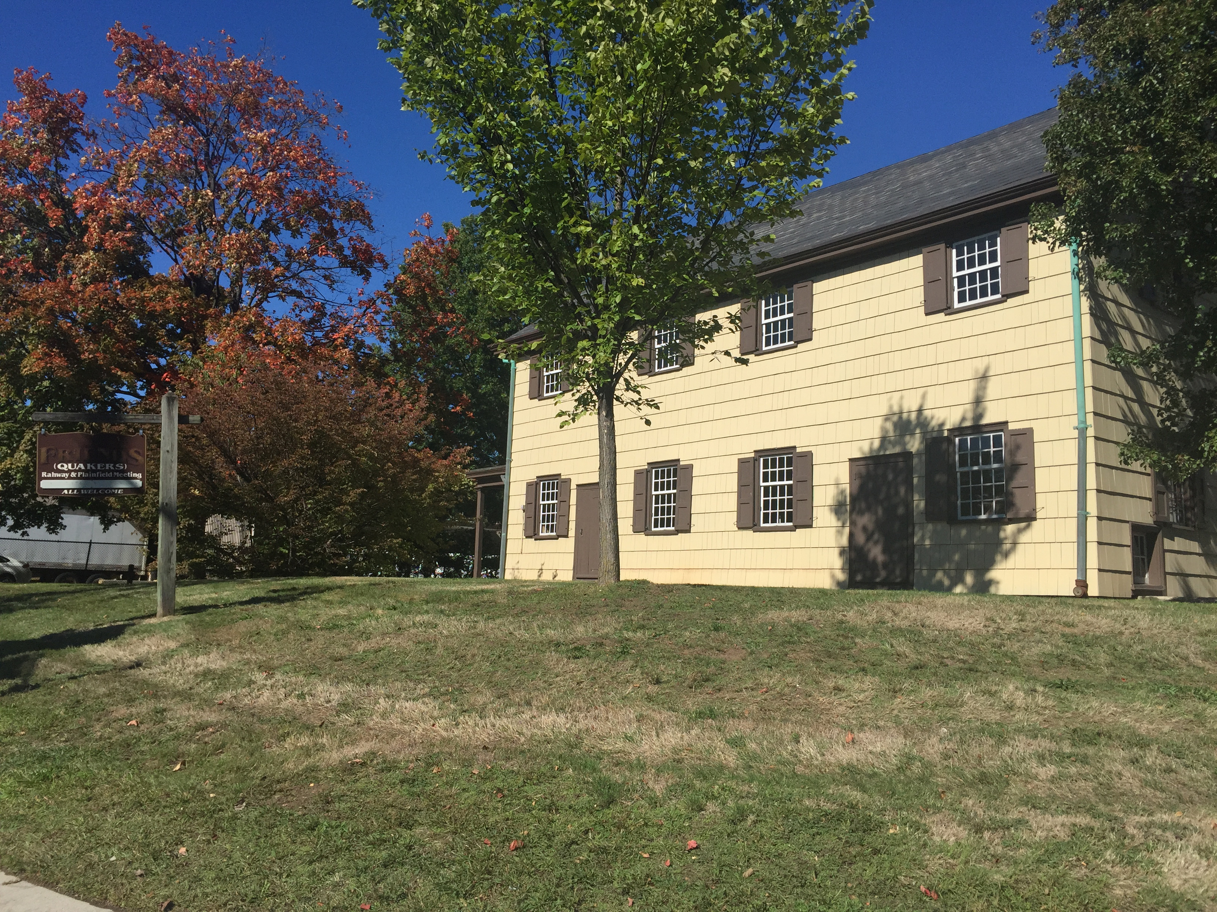 The Quaker Meeting House | 223-233 Watchung Avenue | Built 1788 | Colonial