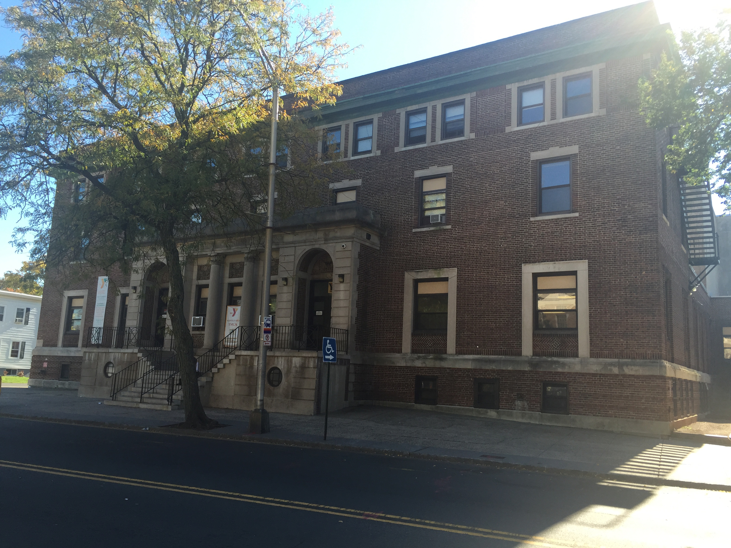 The Plainfield YMCA | 1922-1923 | 518 Watchung Avenue |Neoclassical