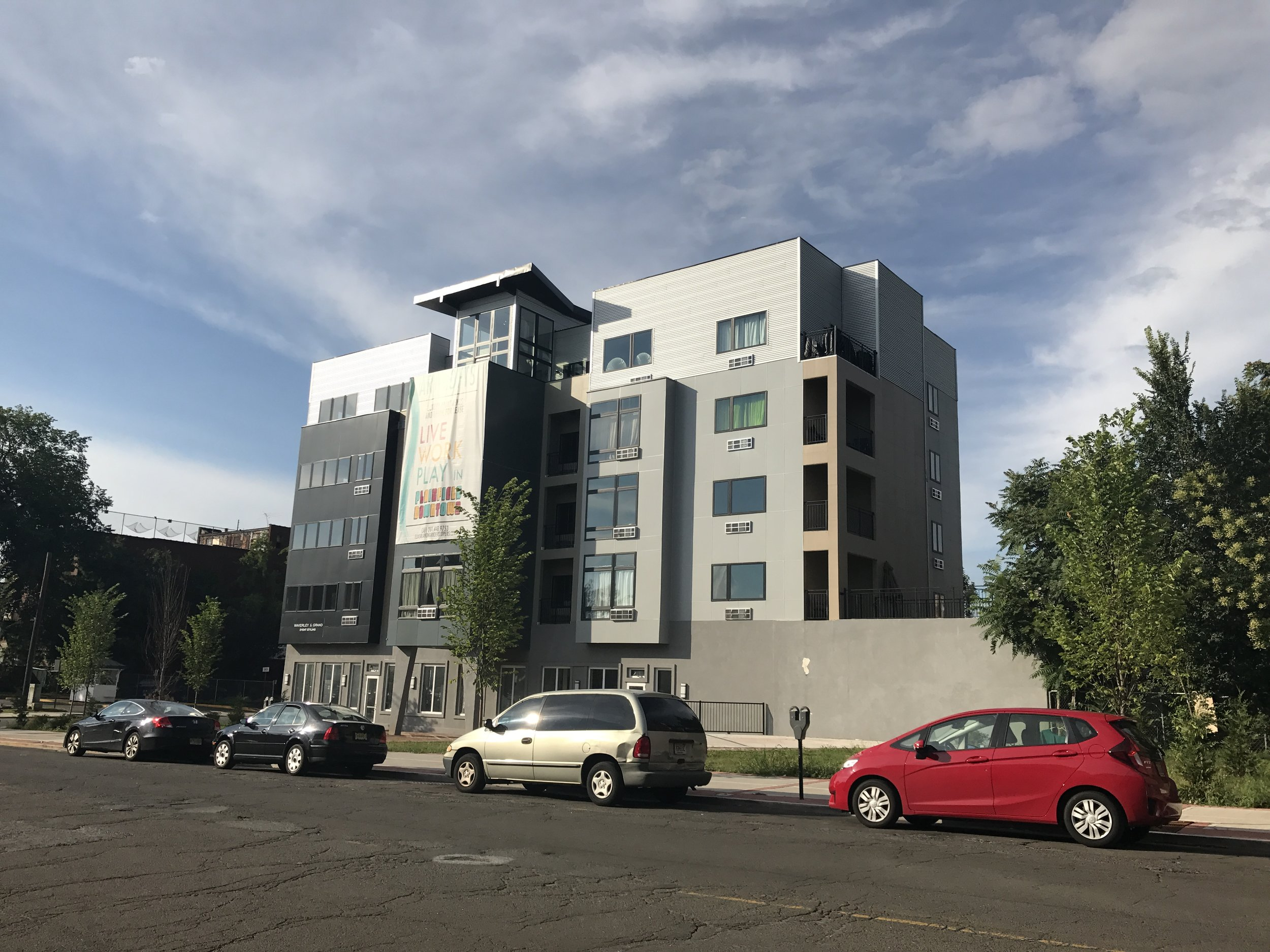 "Former Romond's Jeep Site | New ""Art Lofts"" 