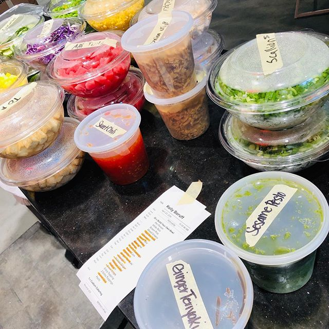 Office Catering 👌 Easy. Healthy. Delicious. . . #hiropoke #downtownstl #stl #stleats #feastagram #stlfood #downtownstl #stllunch #poke #pokebowl #stlcatering #stlcater