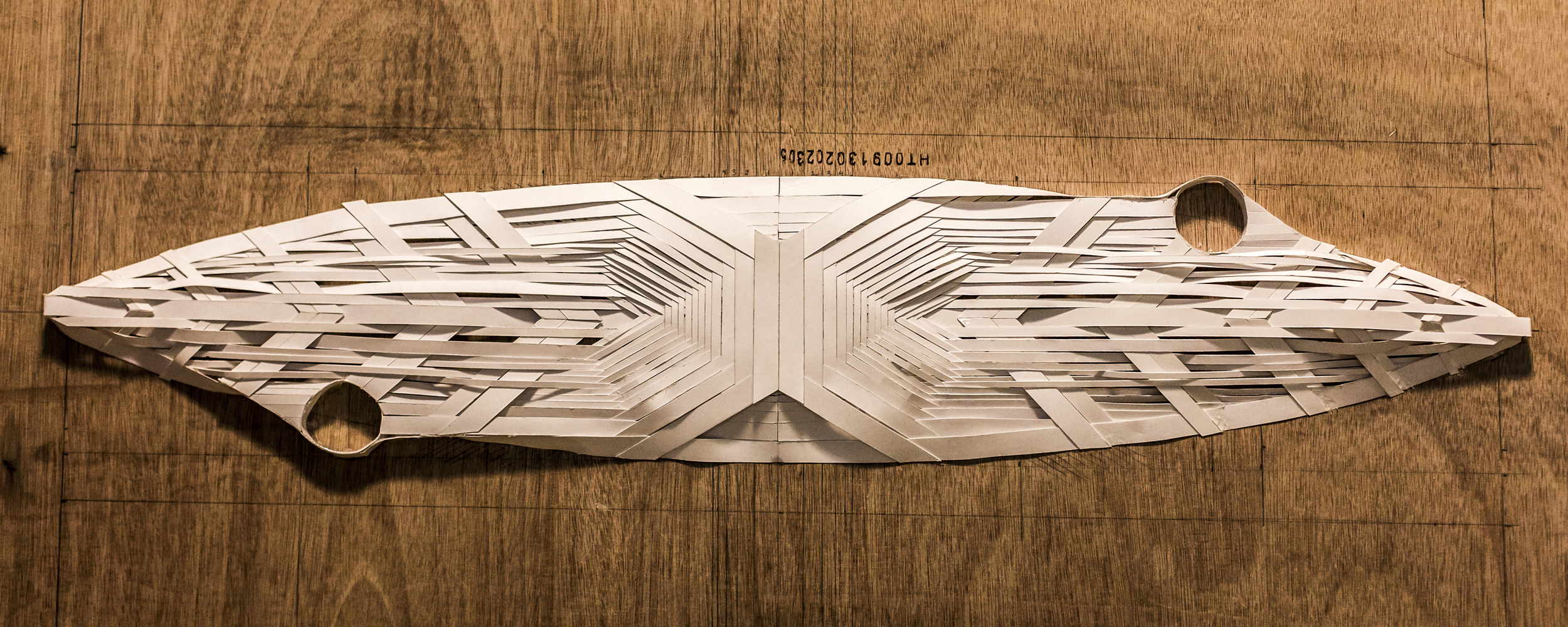 Paper Model for Looking Aft