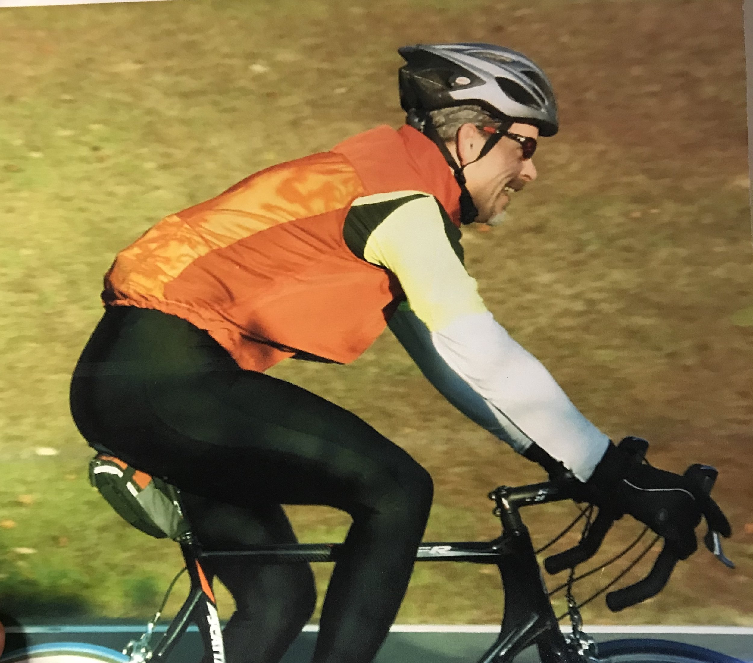 Scott, another one of my yoga students and avid cyclist