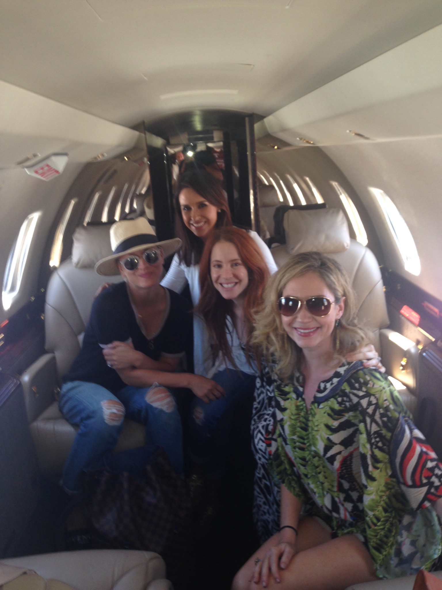 Friends heading out to Vegas.