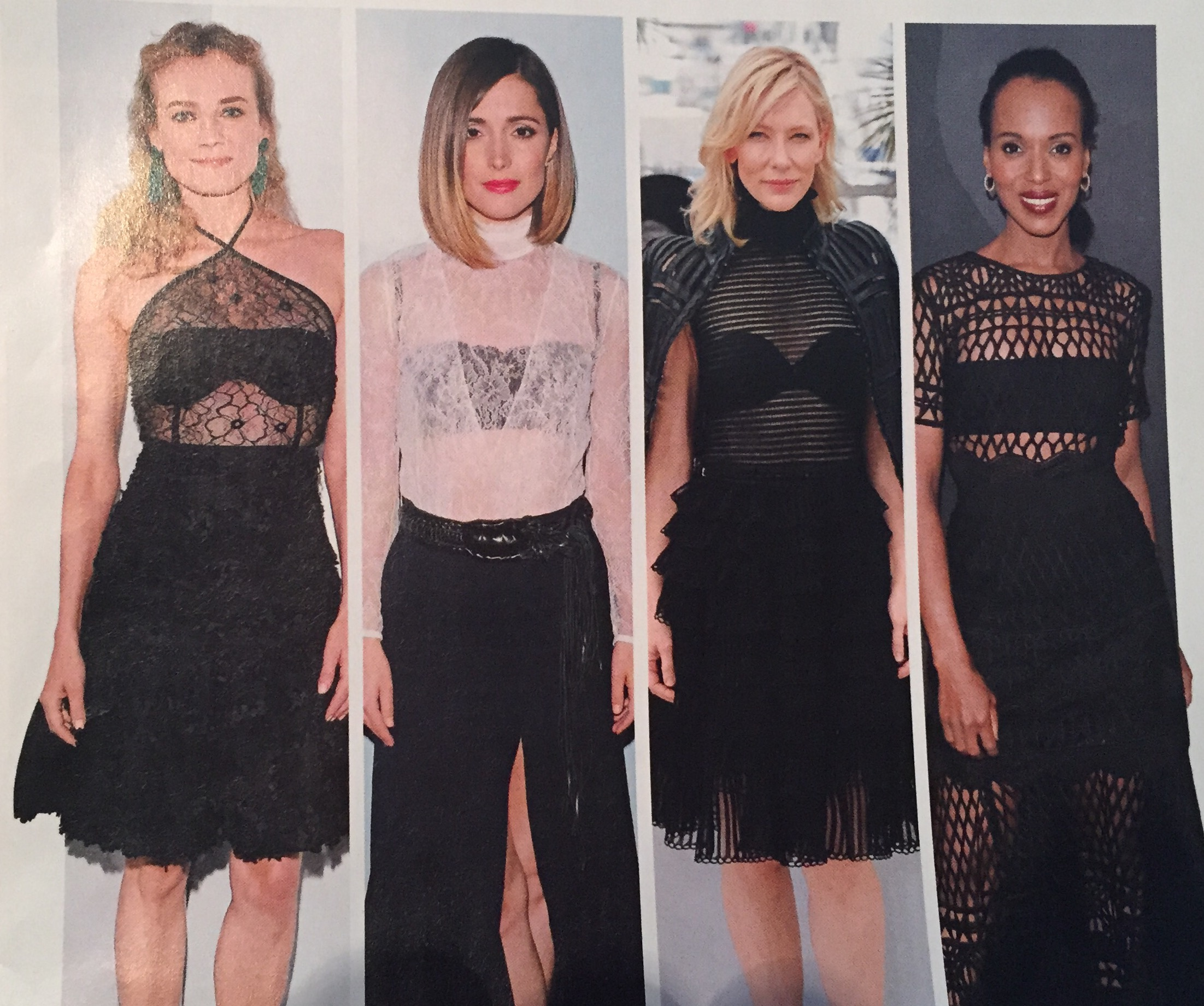 Lace Tops featured in INSTYLE Oct 2015