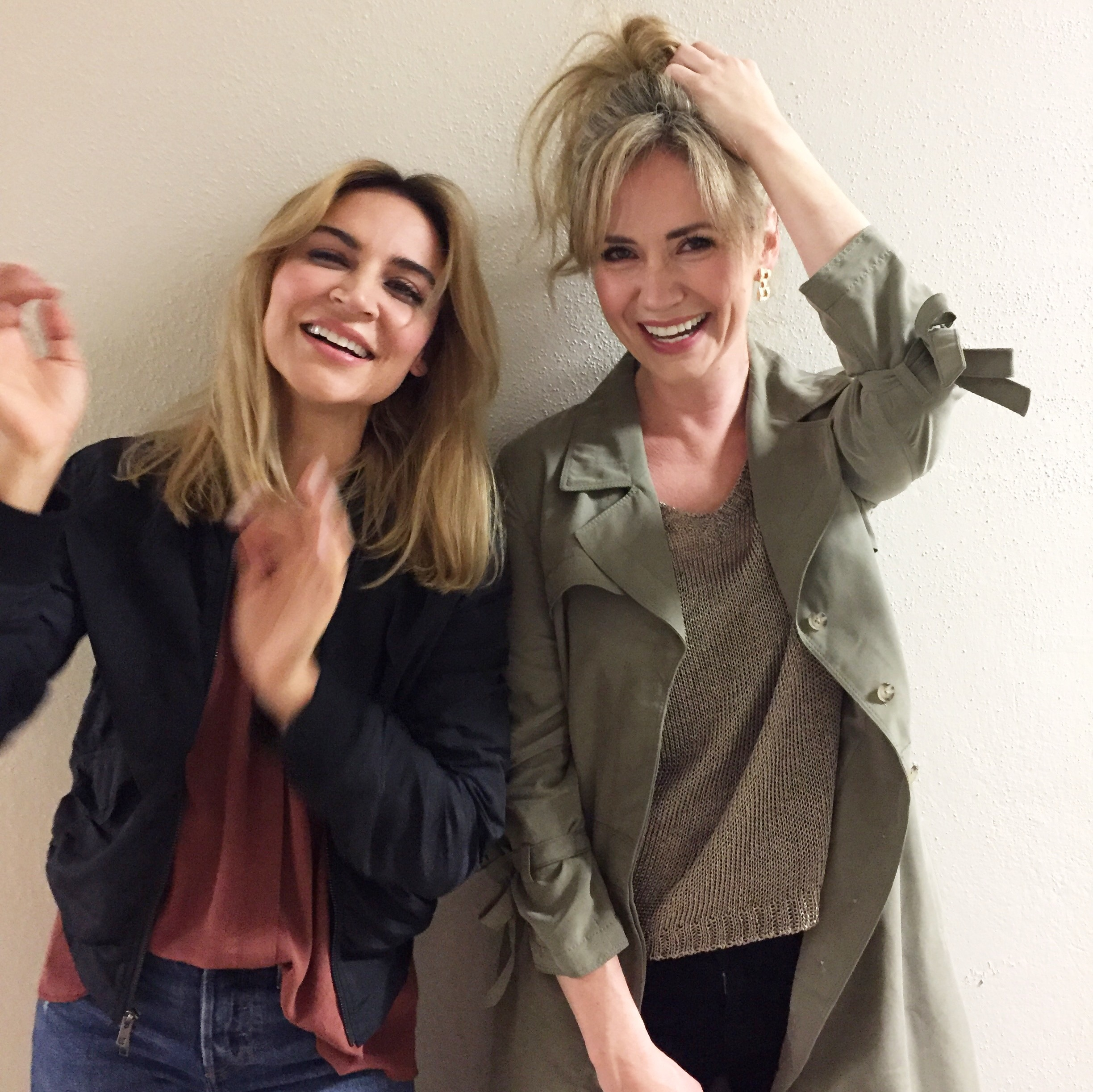 WIth Samaire Armstrong;)