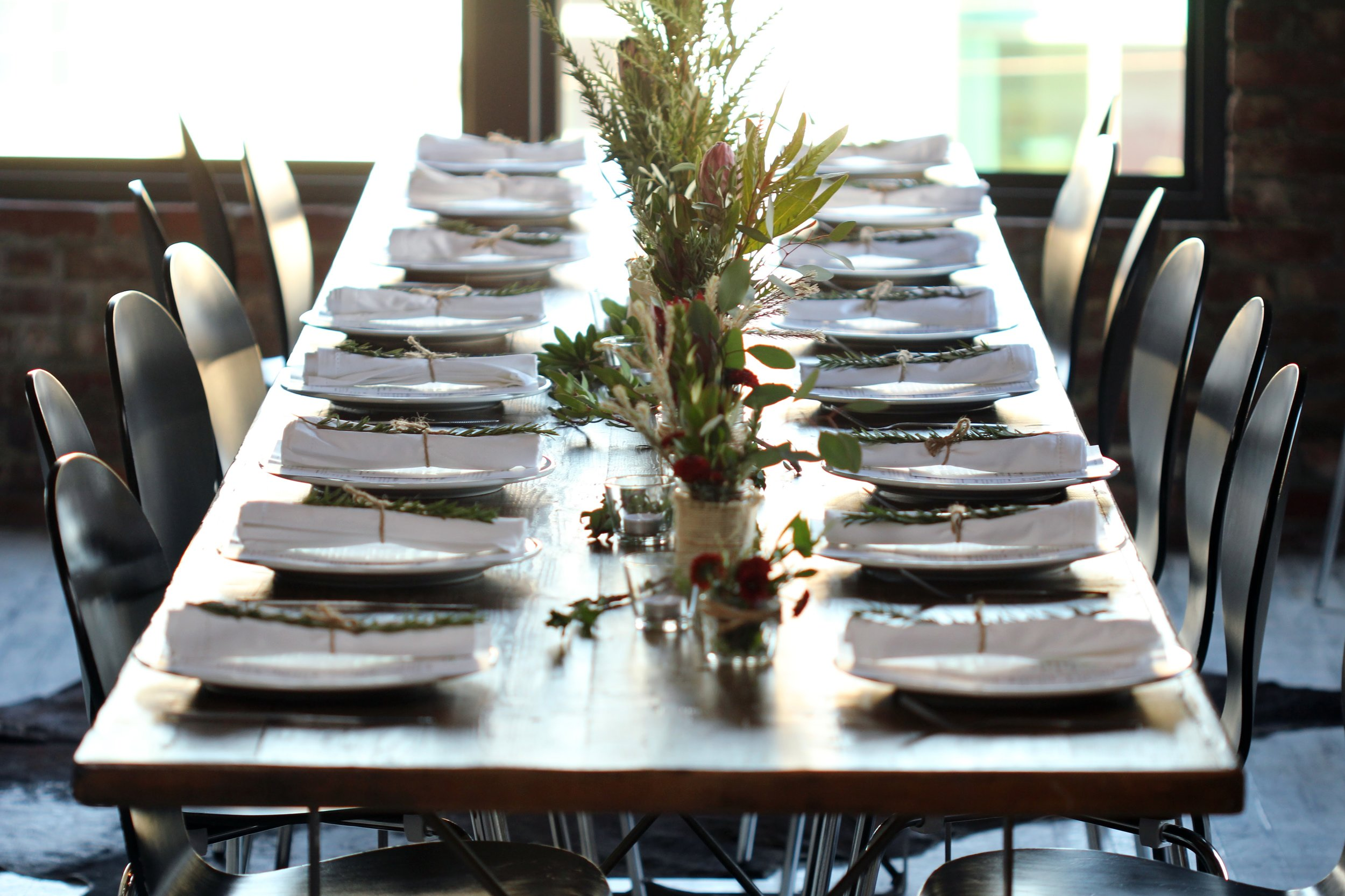 photo: Mattheus Spinelli for our Thanksgiving dinner with Grub Market
