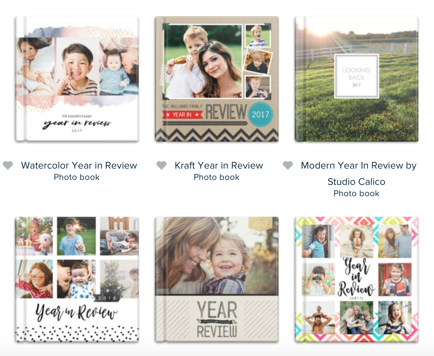 Mixbook - year in review