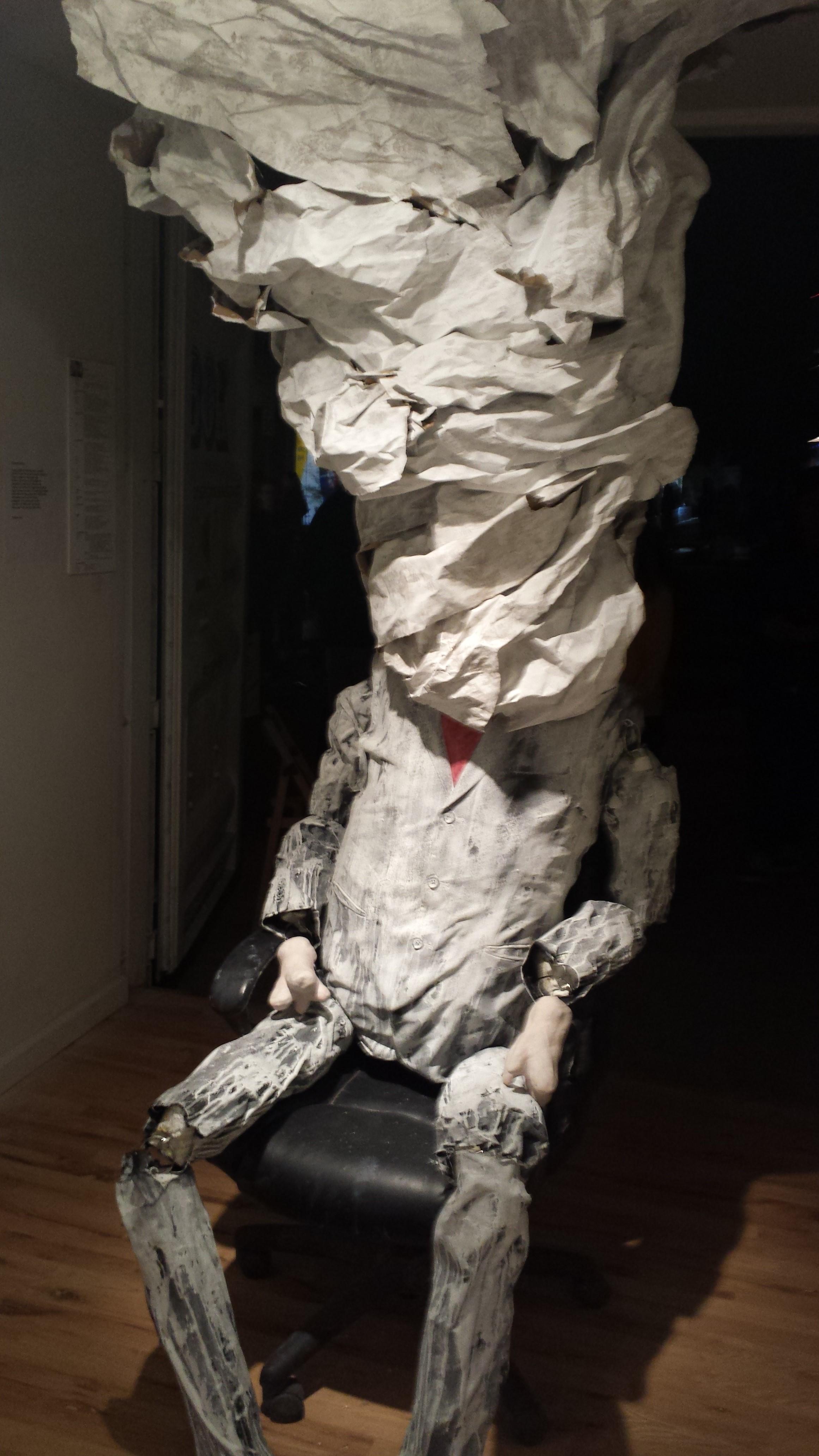Takashi Hara exhibit, Roosevelt Row, 2015