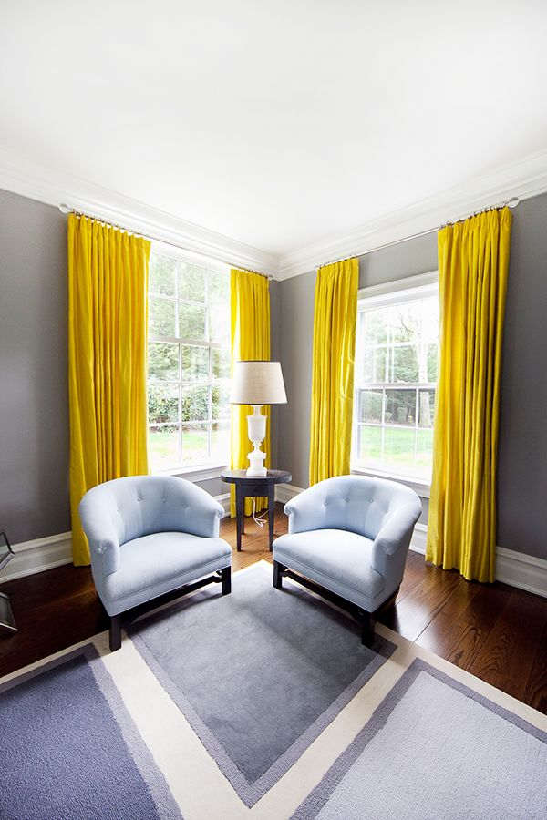 10. Don't forget window treatments. -