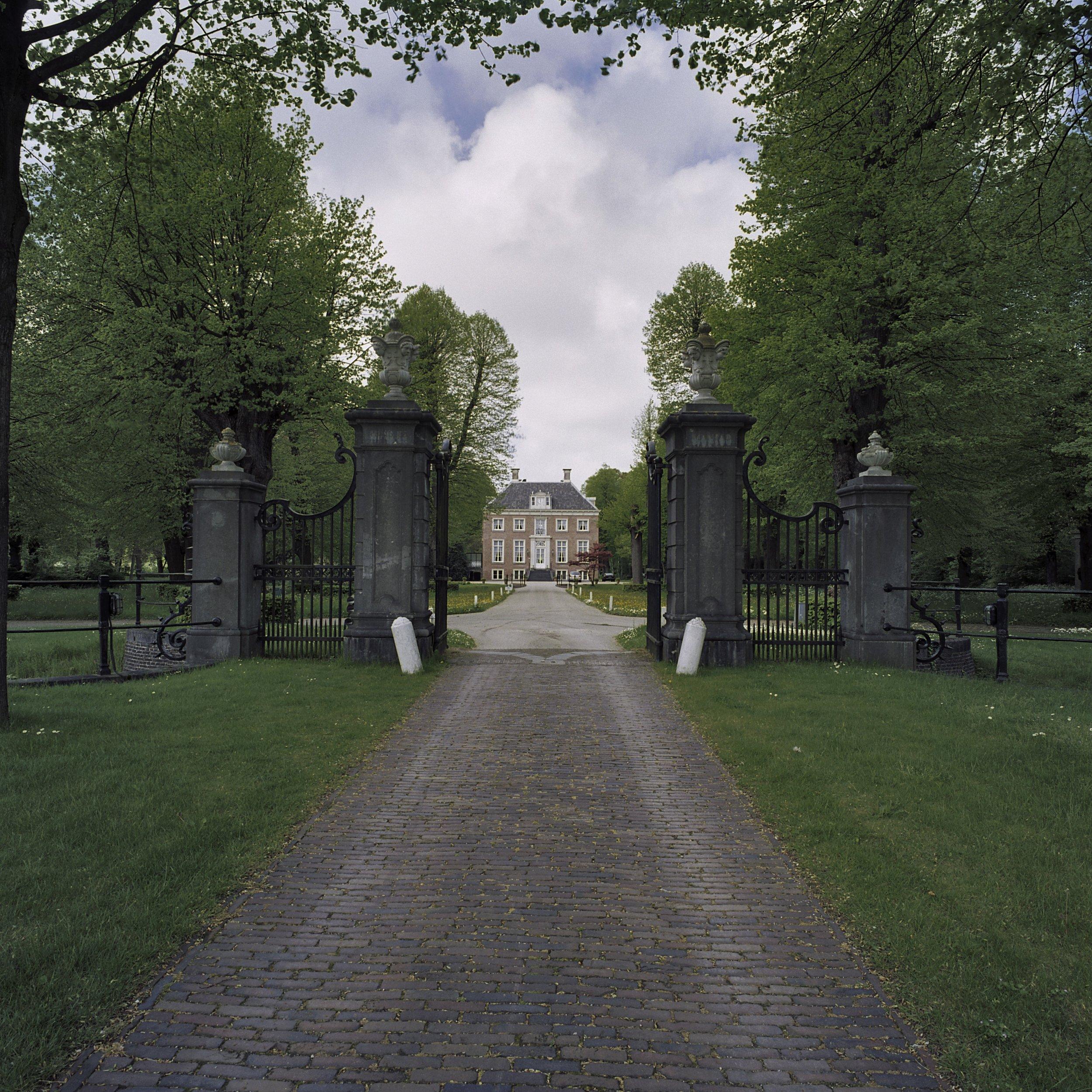 Het Huis te Manpad uit 1630.