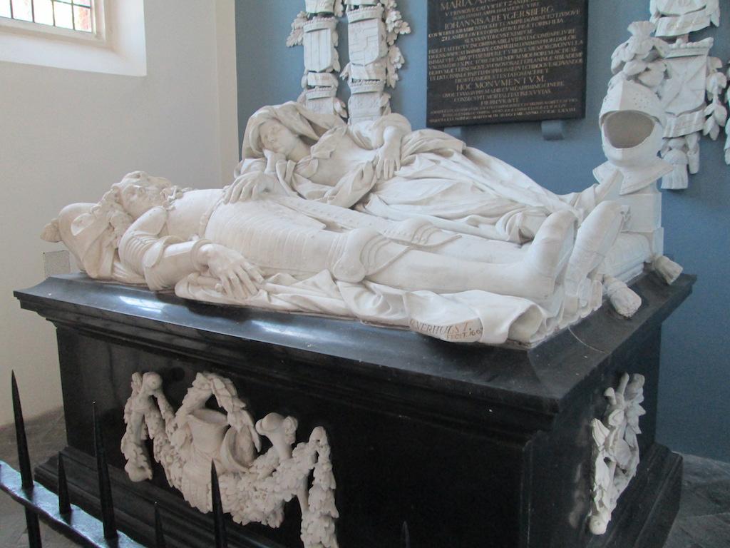 Het grafmonument van Willem van Liere.