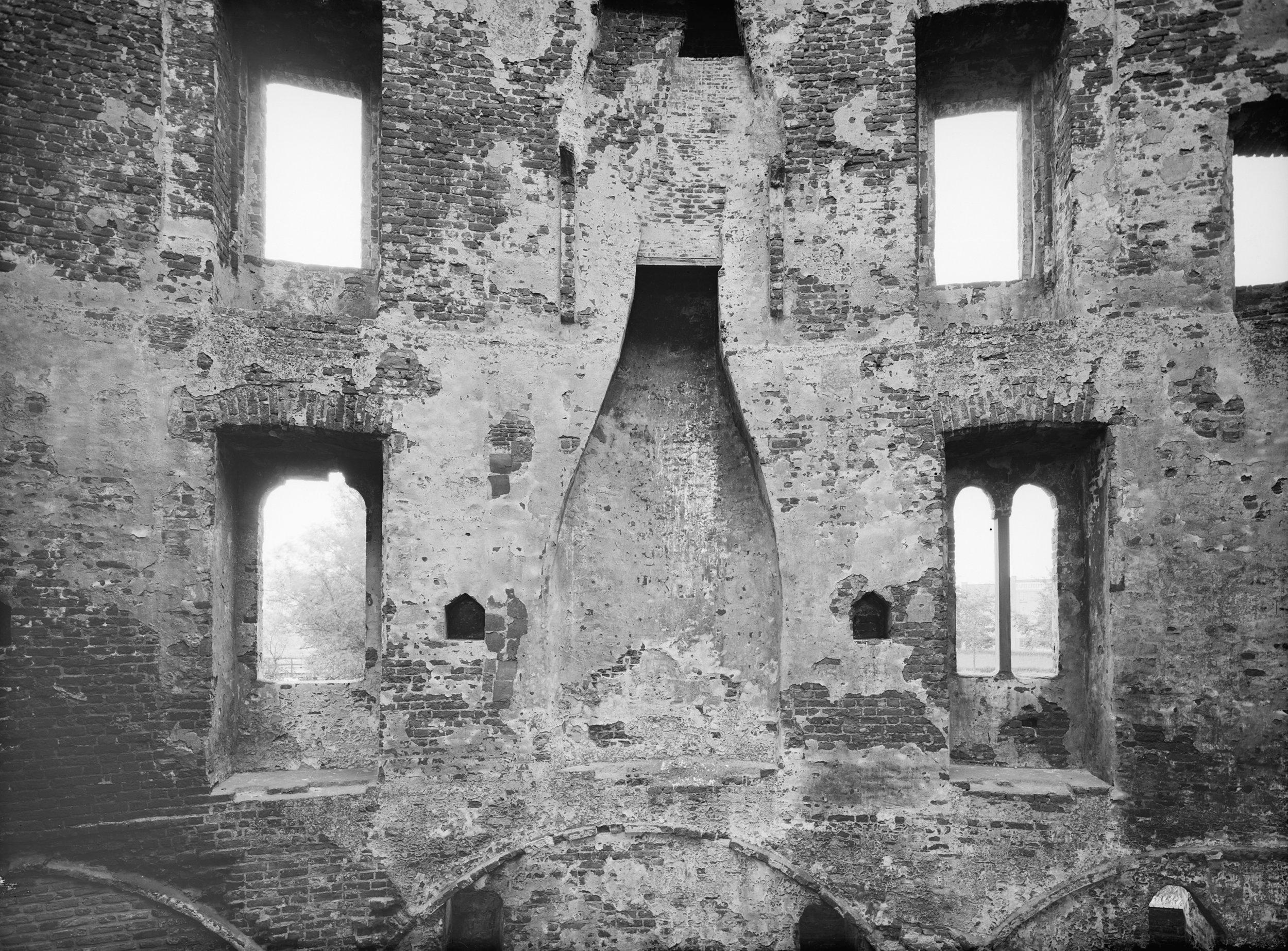 Detail van het interieur, 1933.
