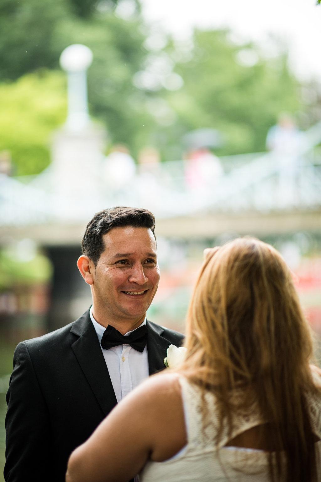 boston public garden wedding dad