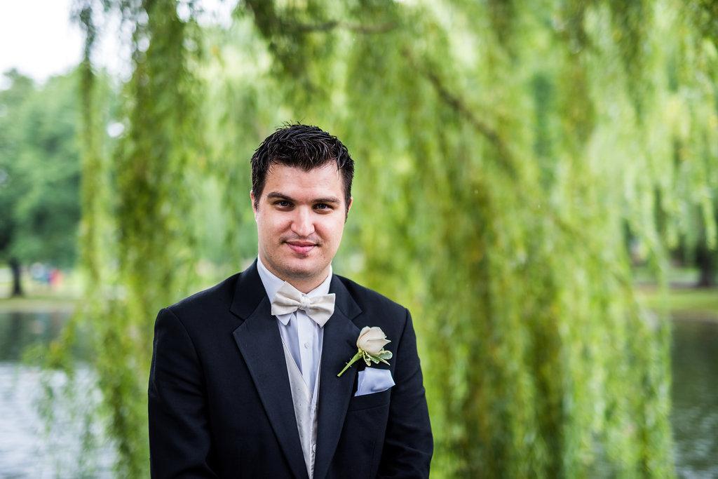 boston public garden wedding groom