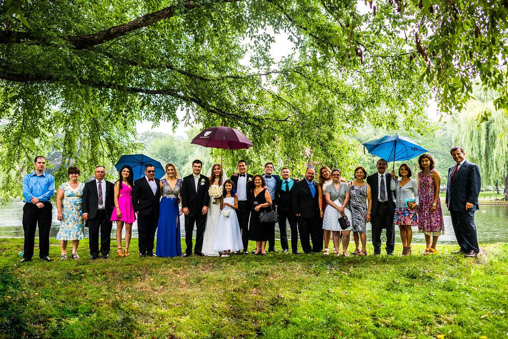 boston public garden wedding family