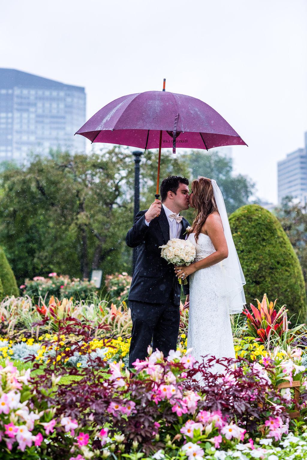 boston public garden wedding flowers