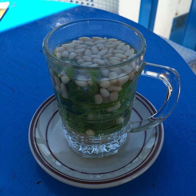 #beauty #sidibousaid #blue #tunisie #tea #traditional