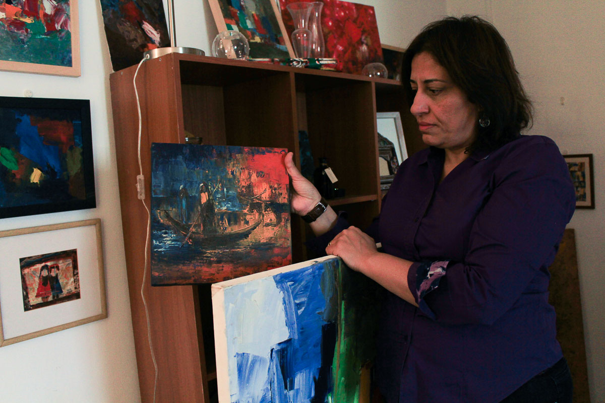 The true colours of the Middle East: an artist's key to the Middle East