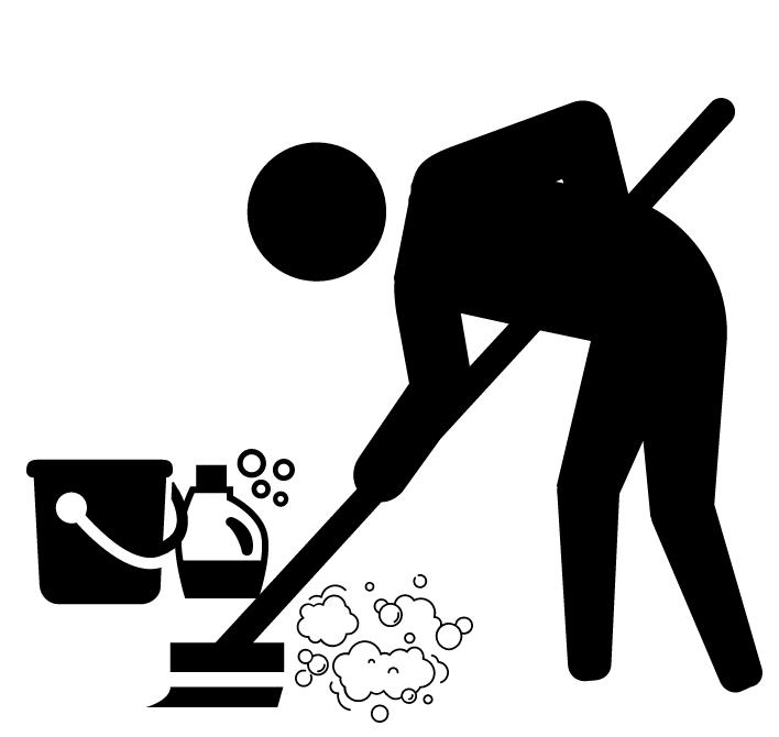 HEAVY DUTY CLEANING- add $100 -
