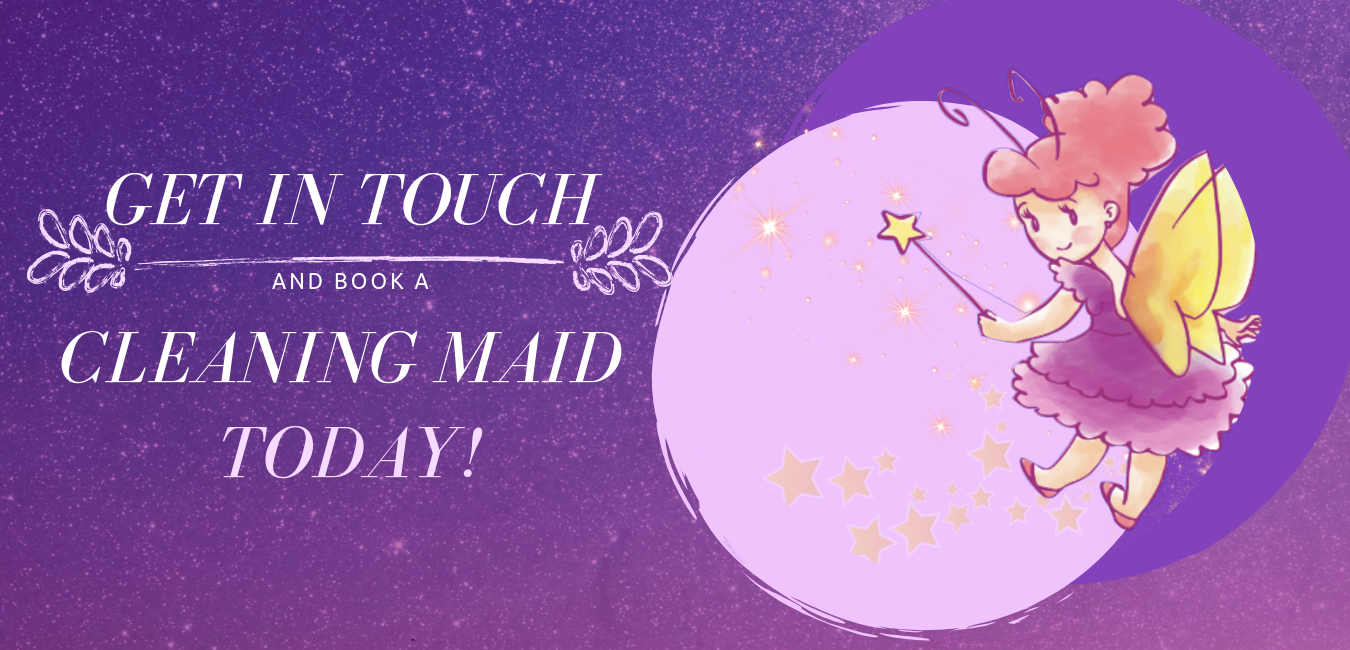 Call Us, Send us a message through SMS or online to set-up an appointment with our Sparkly Maid team.