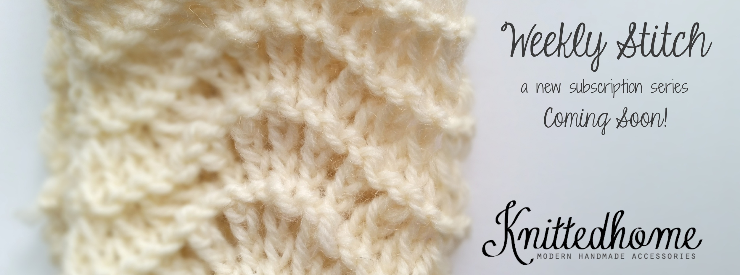 Knittedhome Weekly Stitches