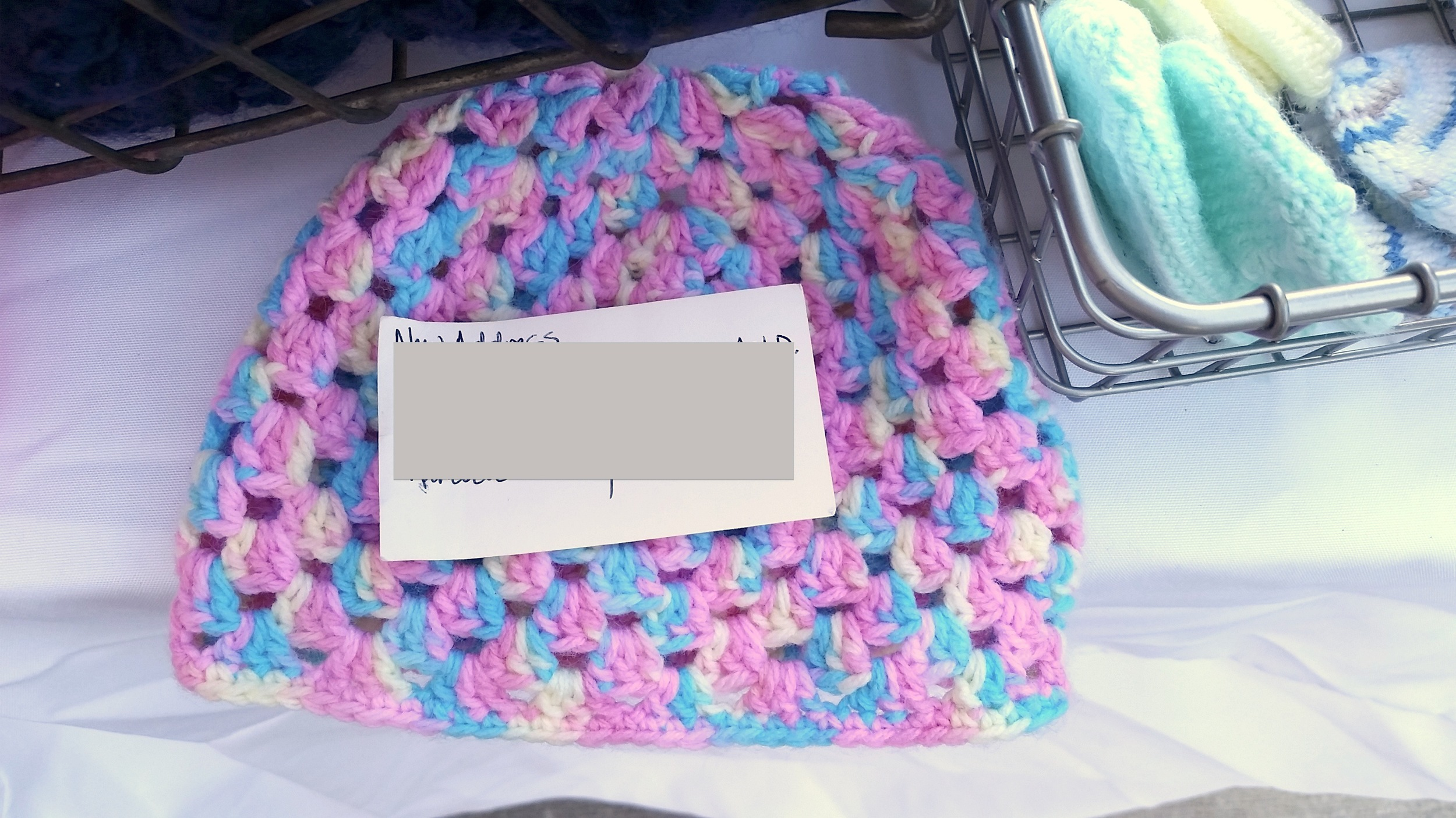 Custom Shell Baby Hat | theknittedhome.com
