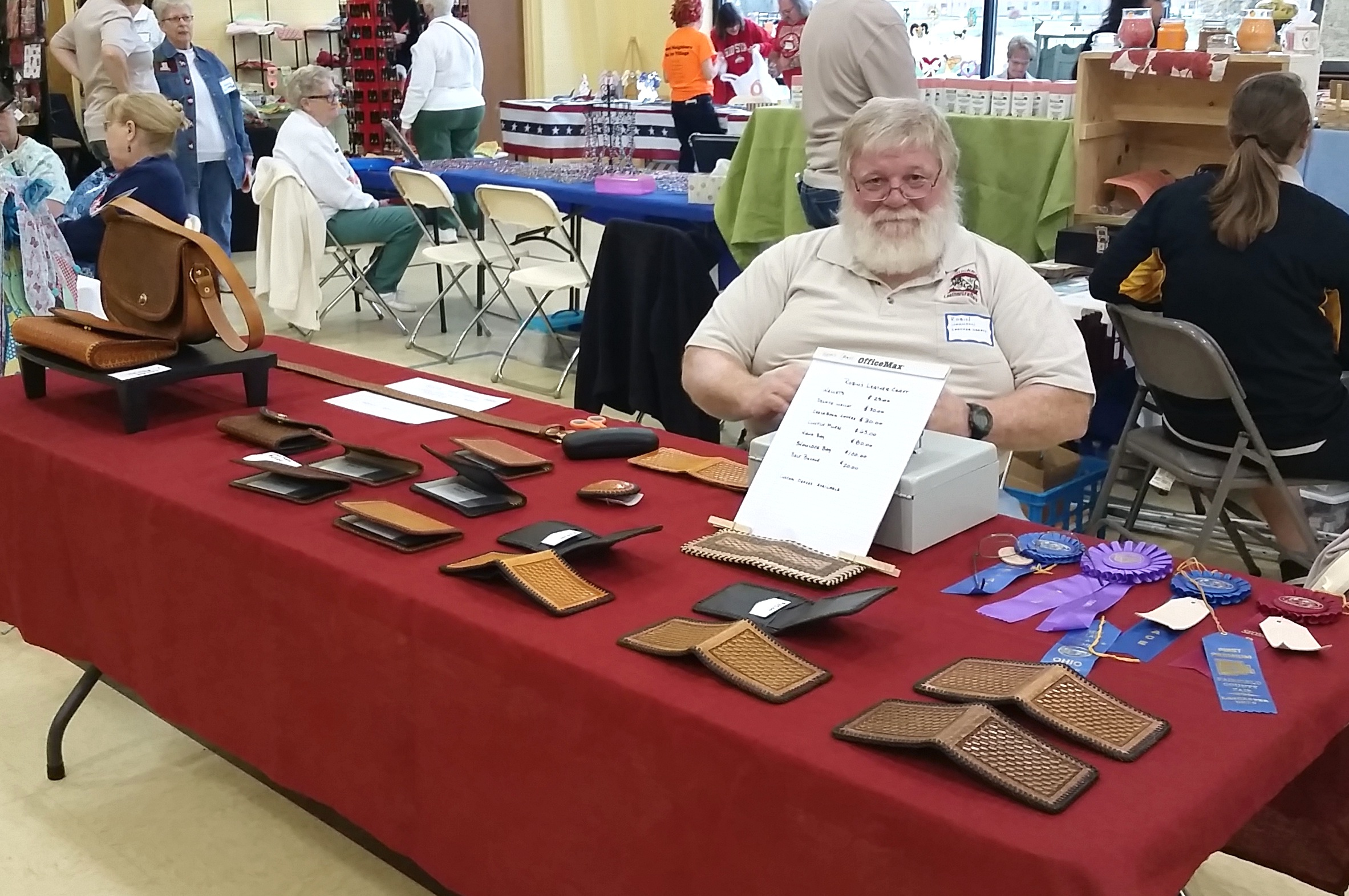 My Father-in-Law's Leather Talents theknittedhome.com