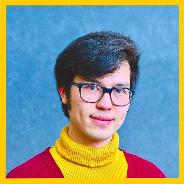 "After 3 years of stumbling upon free headshot opportunities, my ""Yellow Turtleneck Trilogy"" (2016-2019) is finally complete."