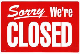 Friday Jan 1, 2016 Closed